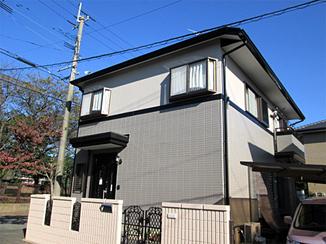 外壁・屋根リフォーム 仕上がりに艶があり、きれいになった外壁