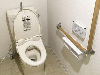 トイレリフォーム バリアフリーで老後も安心して使えるトイレ