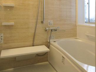 バスルームリフォーム 土台も入れ替えて、安心して使えるバスルーム