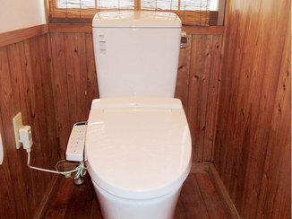 トイレリフォーム 汚れが付きにくく、お手入れがしやすくなったトイレ