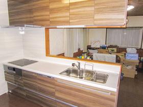 キッチンリフォームIHや食洗機など機能面も充実したシステムキッチン