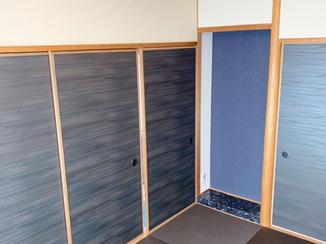 内装リフォーム 洋畳や襖を工夫したモダンなリフォーム
