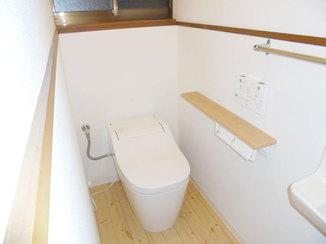 トイレリフォーム 掃除の手間を大きく減らす自動洗浄トイレ