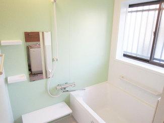 バスルームリフォーム 浴室暖房で寒さ対策された浴室