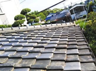外壁・屋根リフォーム 防水シートと瓦を取替えて台風シーズンにそなえた瓦屋根
