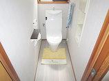 トイレリフォームお掃除しやすいスタイリッシュなトイレ空間
