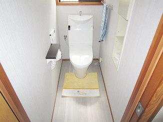 トイレリフォーム お掃除しやすいスタイリッシュなトイレ空間