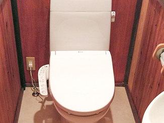 トイレリフォーム 価格を抑えてキレイにしたトイレ